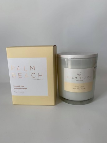 COCNUT AND LIME CANDLE